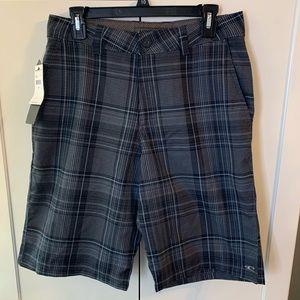 NWT O'Neill Plaid Bermuda Shorts
